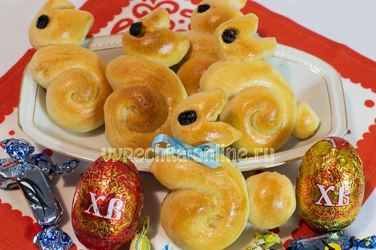 пышные булочки из дрожжевого теста в духовке рецепт с фото пошагово