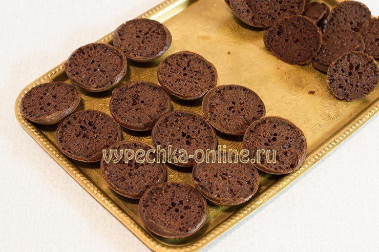 Shokoladnye keksy v silikonovykh formochkakh Shag 10