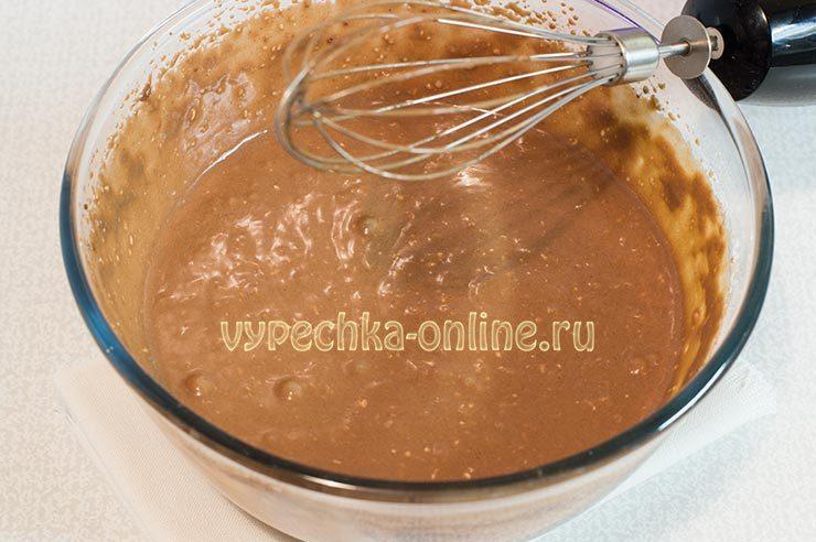 Shokoladnye keksy v silikonovykh formochkakh Shag 6