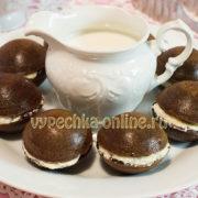 Shokoladnye keksy v silikonovykh formochkakh retsept s foto