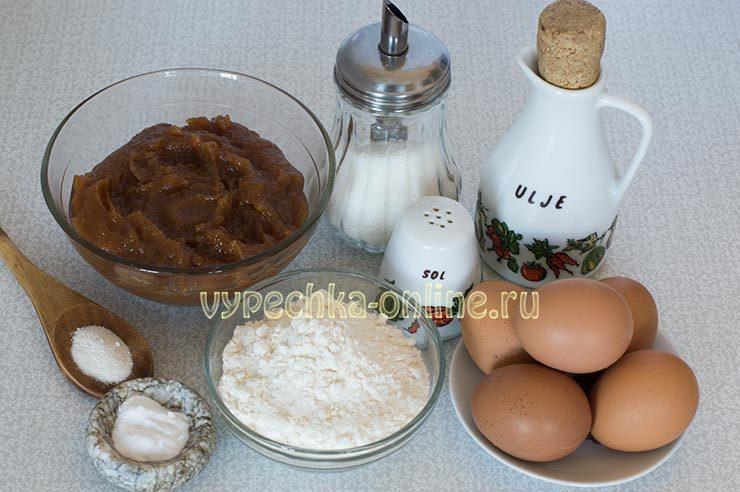 бисквит с вареньем в духовке
