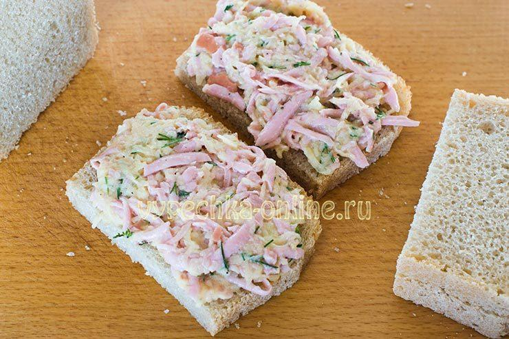 бутерброды с картошкой жареные на сковороде