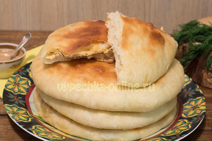 хачапури из дрожжевого теста с сыром в духовке рецепт очень вкусно