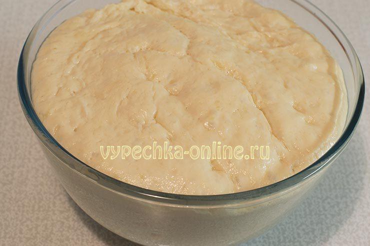 как испечь хачапури с сыром из дрожжевого теста