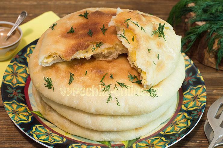 хачапури с сыром рецепт с фото в духовке из дрожжевого теста