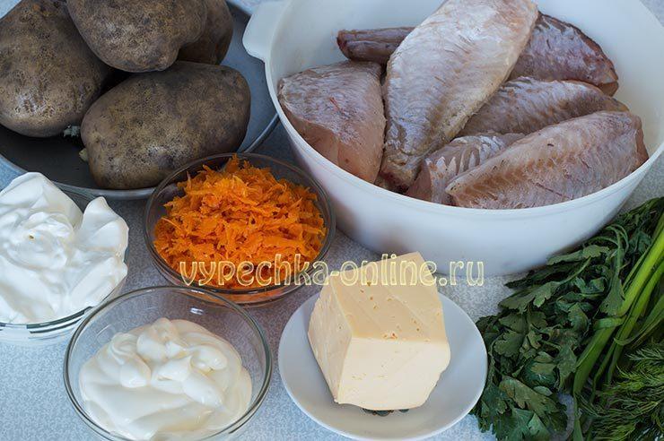 морской окунь в сметане в духовке рецепт с фото