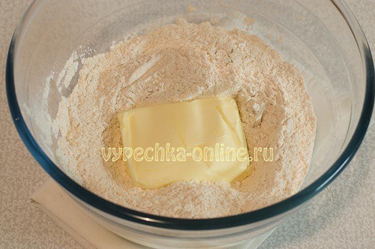 пирог с курицей в духовке пошаговый рецепт с фото