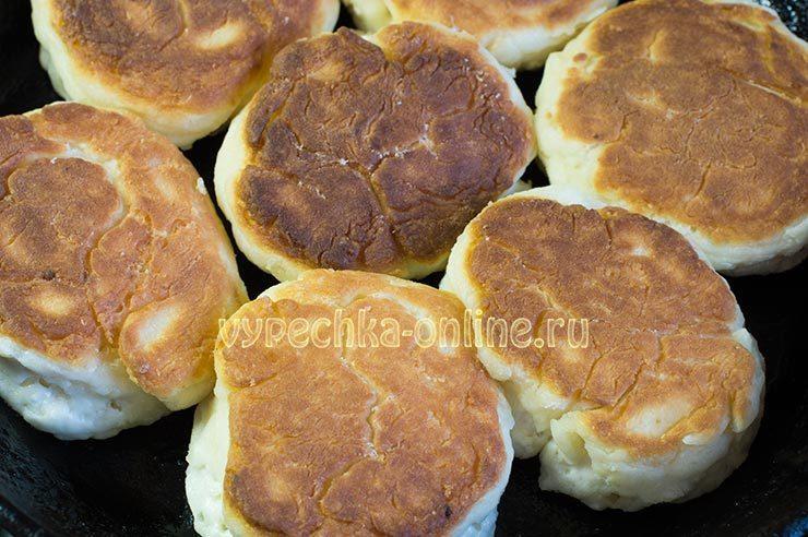 сырники из творога рецепт с фото пошагово на сковороде пышные без манки