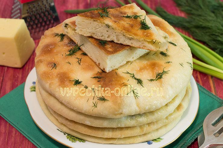 хачапури с сыром и творогом в духовке рецепт с фото