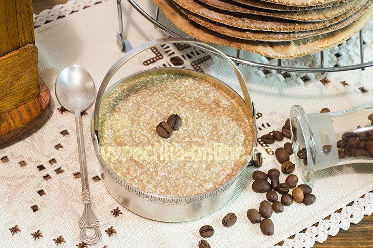 рецепт торта на сгущенке на сковороде