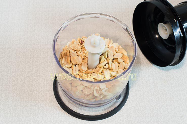 как приготовить арахисовую пасту в домашних условиях