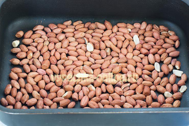 паста из арахиса в домашних условиях