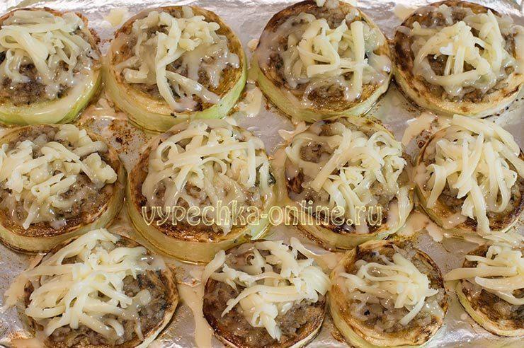 фаршированные кабачки в духовке рецепты быстро и вкусно