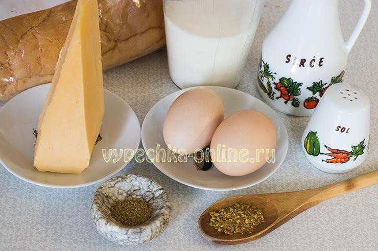 гренки с сыром на сковороде