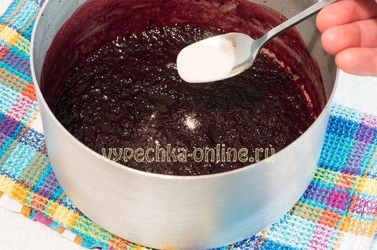 Черешневый конфитюр рецепт
