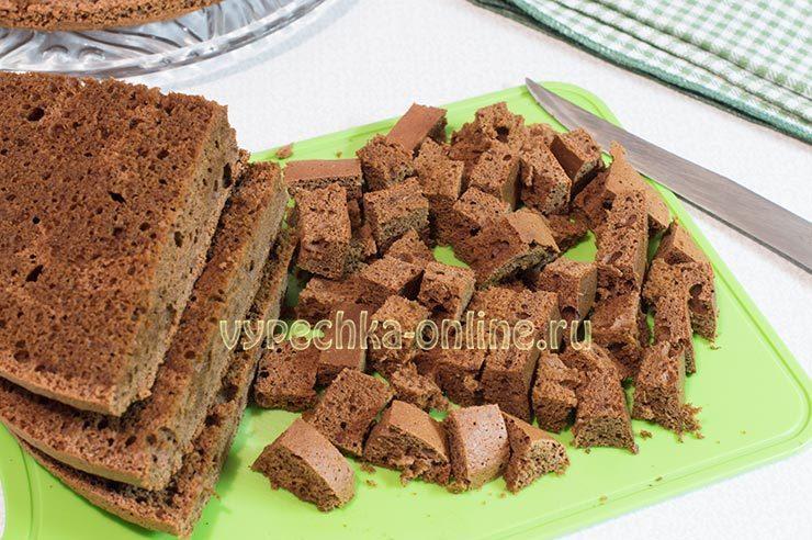 торт панчо с вишней пошаговый рецепт с фото