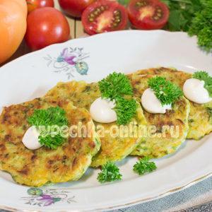 Как приготовить оладьи из кабачков простой рецепт и быстрый