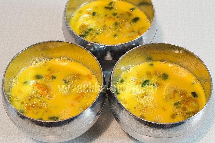 Овощная яичница как готовить