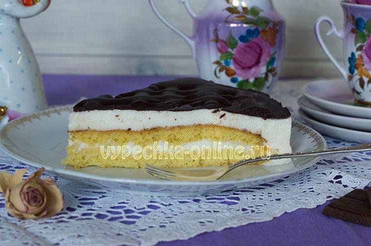 Торт Птичье молоко с агар-агаром рецепт