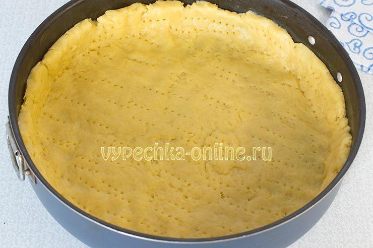 пирог с орехами рецепт с фото пошагово в духовке