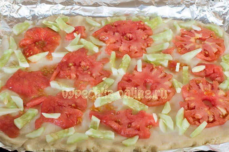 пицца пп рецепт в духовке