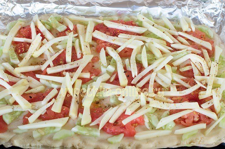 рецепт пп пиццы в духовке