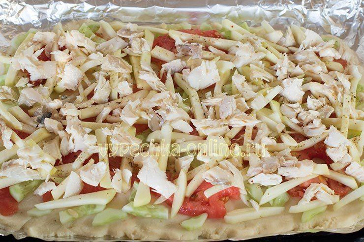 как приготовить диетическую пиццу в домашних условиях