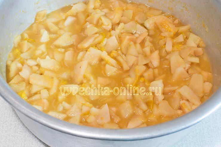 Пюре из слив и яблок на зиму рецепт