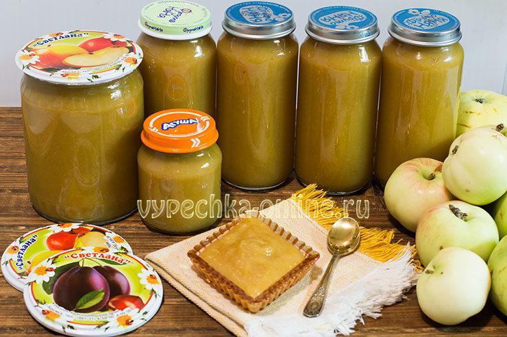 Сливово-яблочное пюре на зиму в домашних условиях