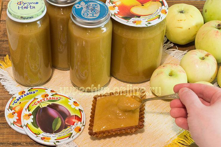 Сливово-яблочное пюре на зиму