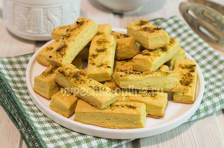 Печенье из песочного теста мягкое рассыпчатое