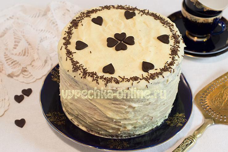 Необычный торт своими руками