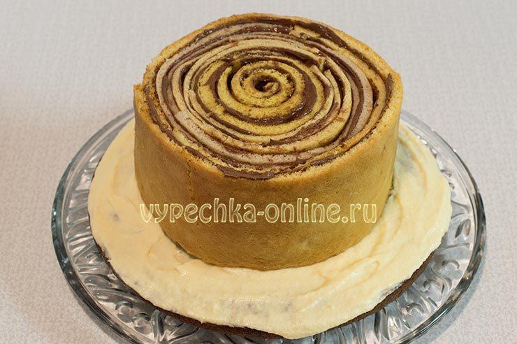 Рецепт вкусного торта в домашних условиях с фото на скорую руку