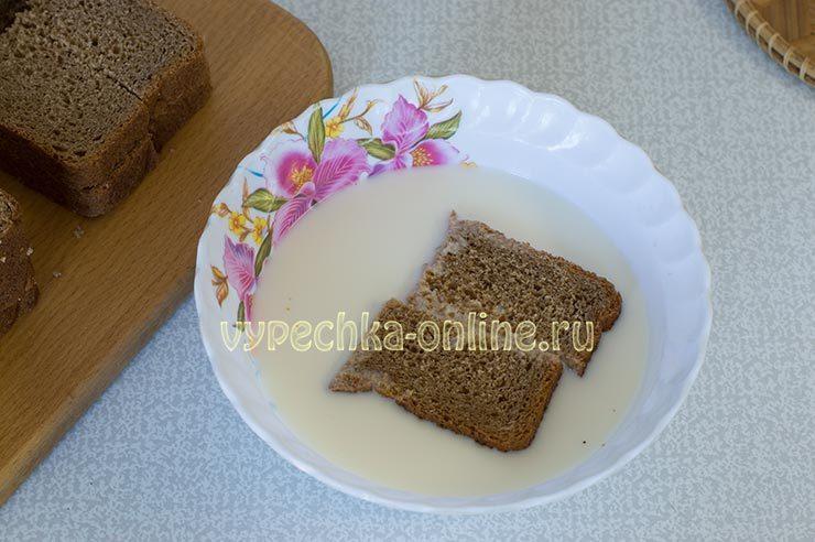 хлеб обжаренный в яйце и молоке рецепт с фото
