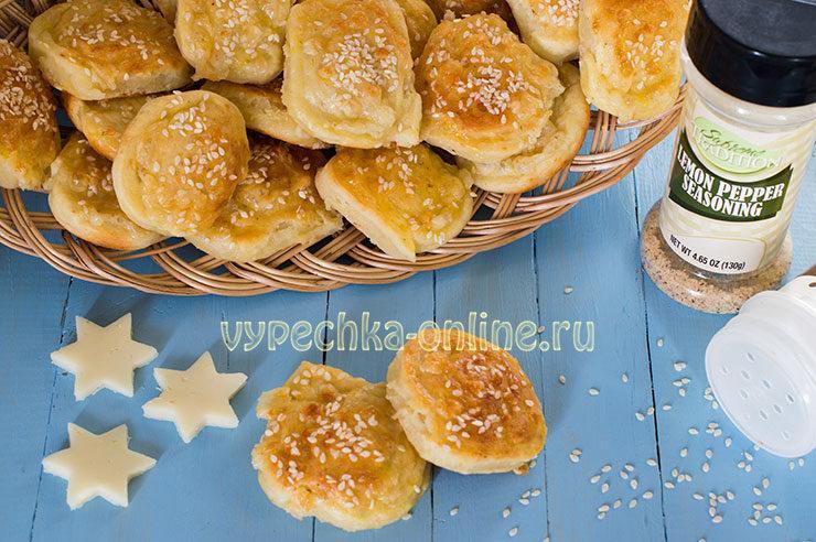 Печенье с сыром на скорую руку