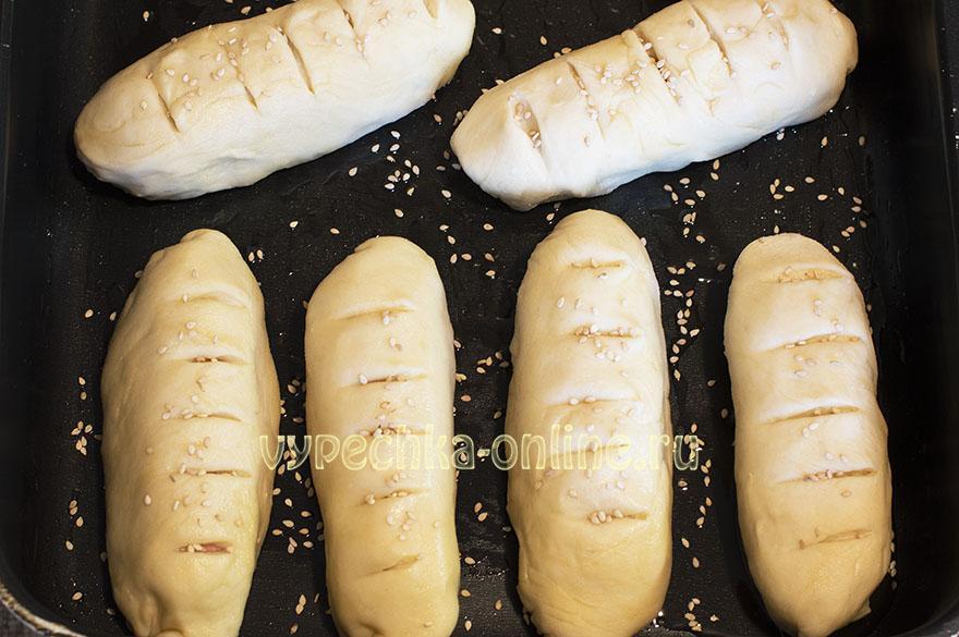 Сосиски в тесте без дрожжей в духовке