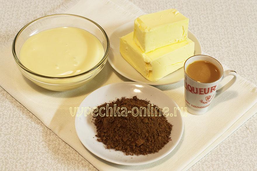 Крем из сгущенки и какао