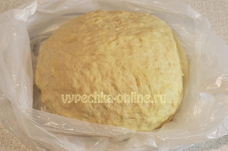 Постное дрожжевое тесто для булочек