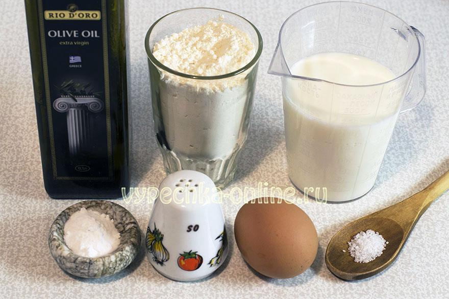 Американские панкейки на молоке