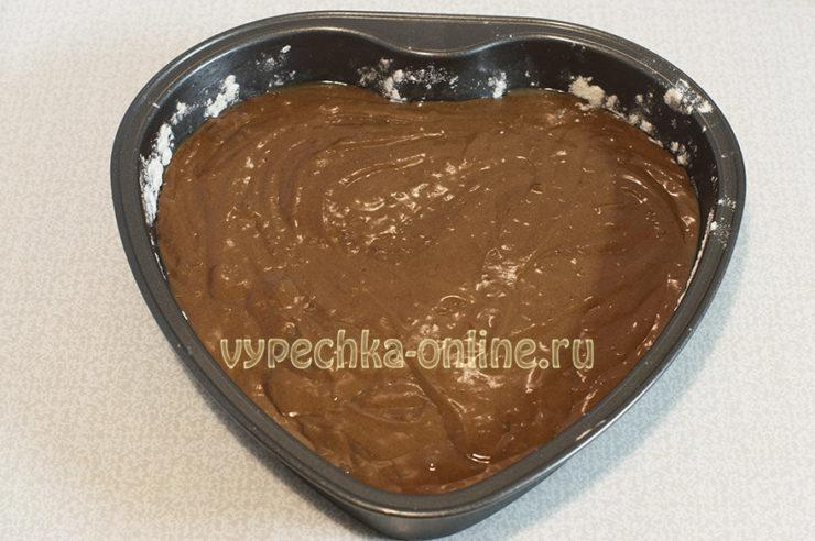 Торт сердце на 14 февраля