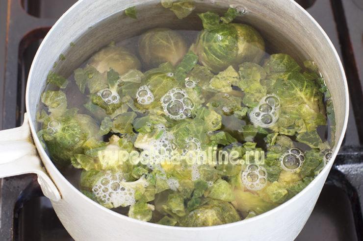 Брюссельская капуста постные рецепты