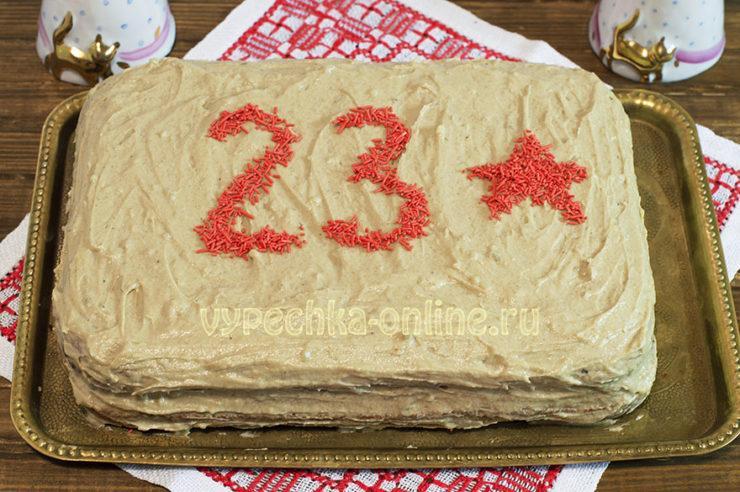 Творожный бисквит для торта