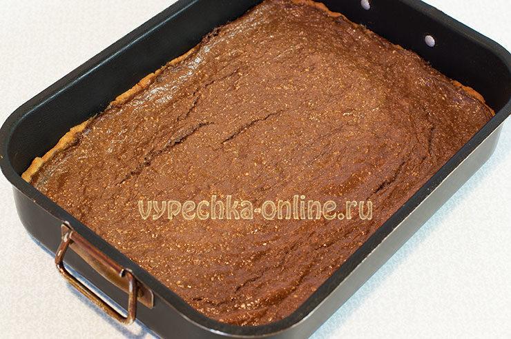 Шоколадный чизкейк с творогом