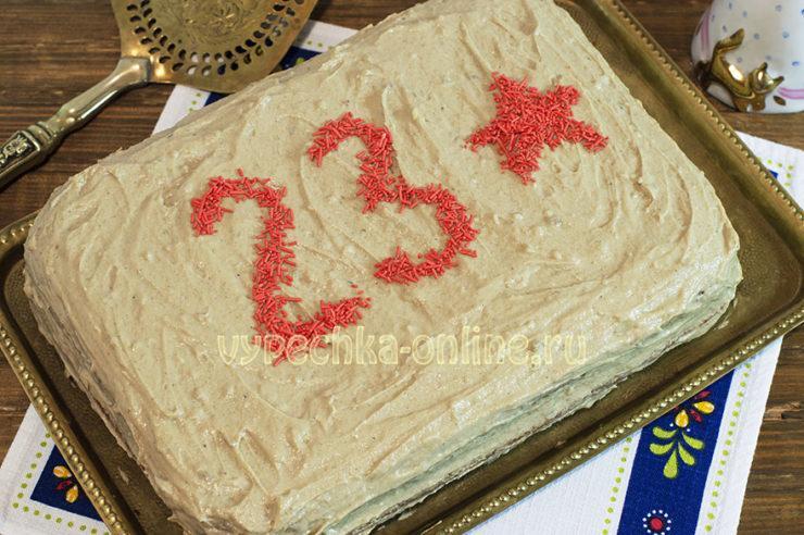 Крем с халвой для торта