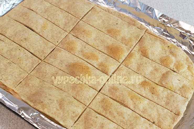 Хлебцы домашнего приготовления