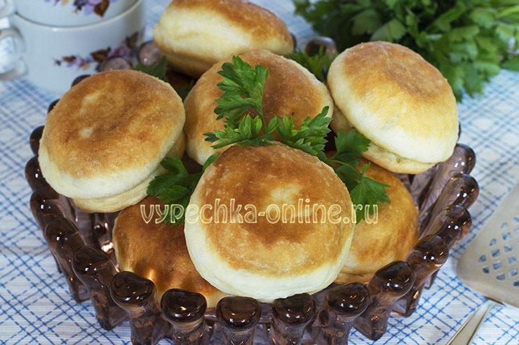Пончики дрожжевые с начинкой