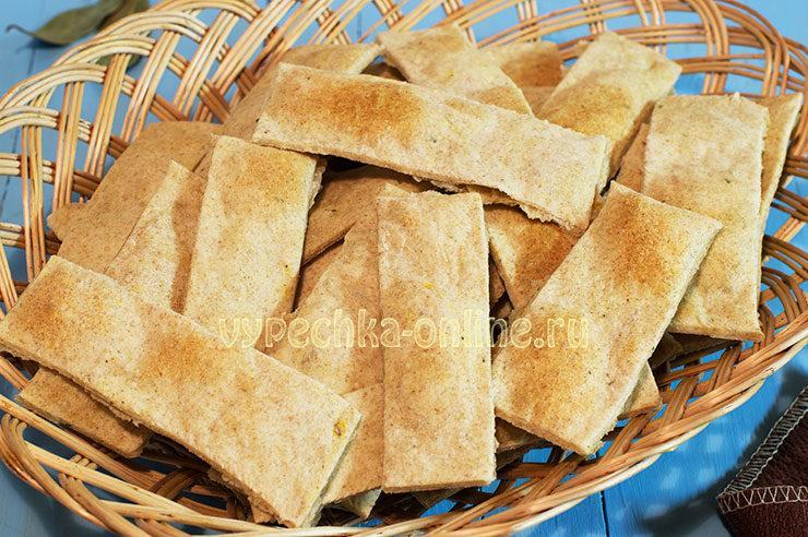 Постные хлебцы