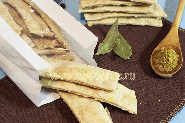 Ржано пшеничные хлебцы