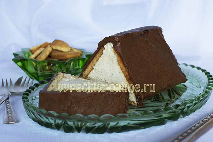 Торт Творожный домик