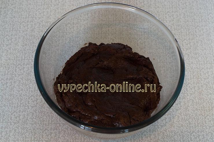 Tresnutoe shokoladnoe pechen'ye Shag 7
